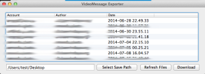 Save Skype Video Messages