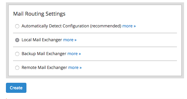 cpanel whm email settings